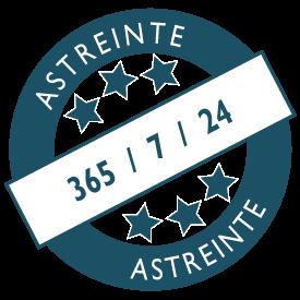 Astreintes : disponibilité H24